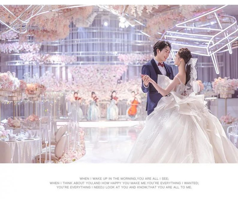 婚礼堂发布:花嫁丽舍七夕婚礼恋曲《波莱罗舞曲》  第8张