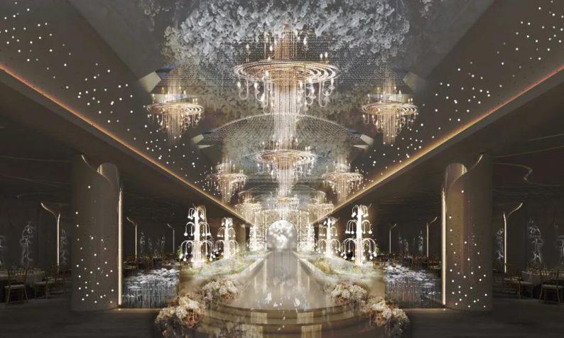 婚礼堂发布:7大宴会厅!御鉴礼宴1万平新店即将起航  第3张