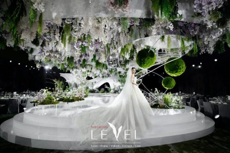 景观园林式婚礼(内附搭建过程视频)  第1张