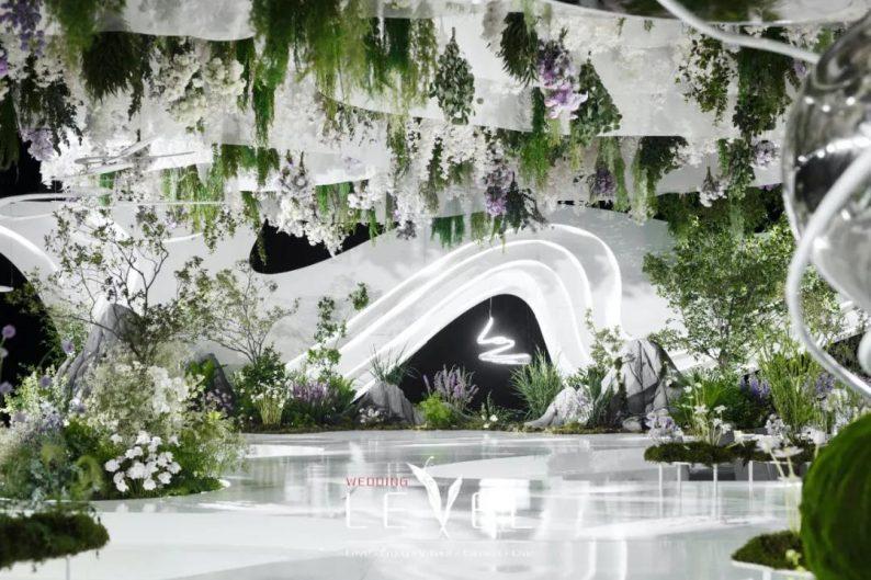 景观园林式婚礼(内附搭建过程视频)  第4张