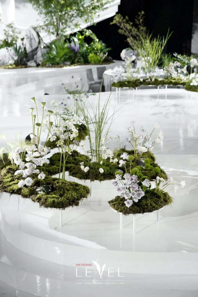景观园林式婚礼(内附搭建过程视频)  第6张