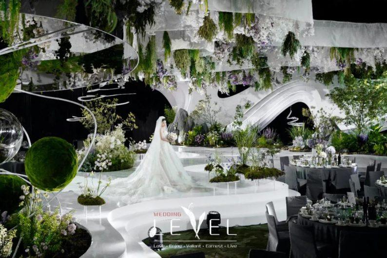 景观园林式婚礼(内附搭建过程视频)  第7张