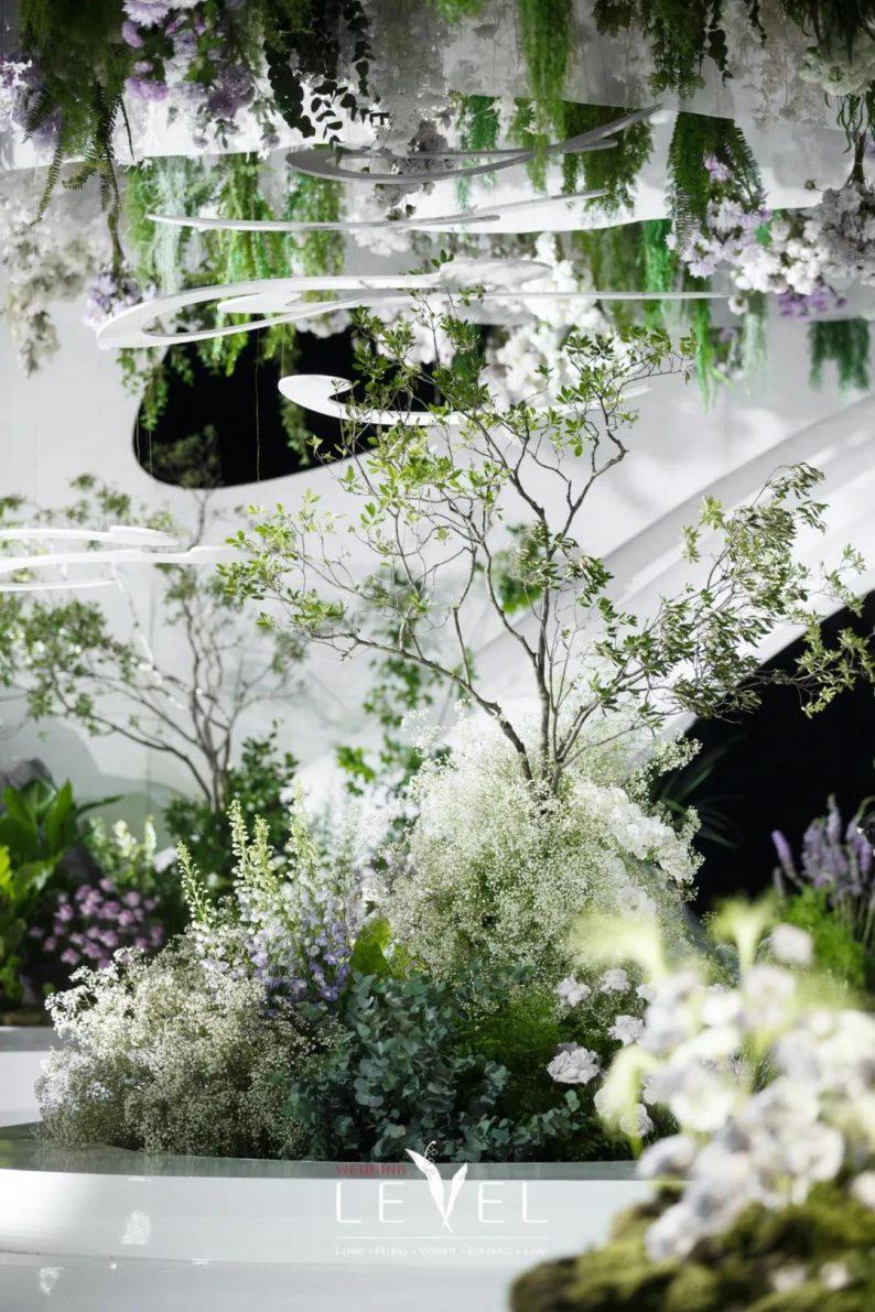 景观园林式婚礼(内附搭建过程视频)  第9张