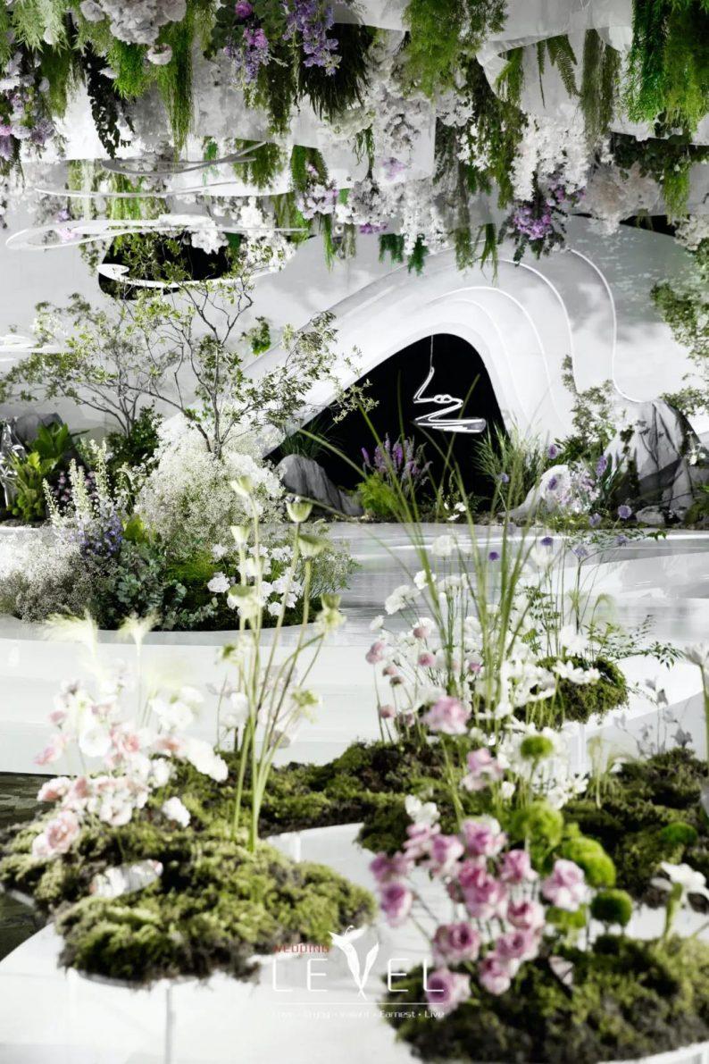 景观园林式婚礼(内附搭建过程视频)  第12张