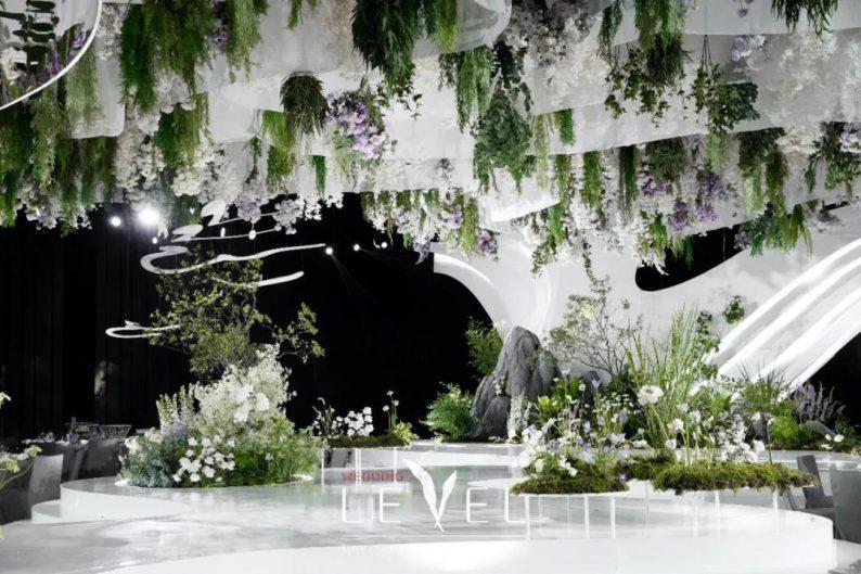 景观园林式婚礼(内附搭建过程视频)  第13张