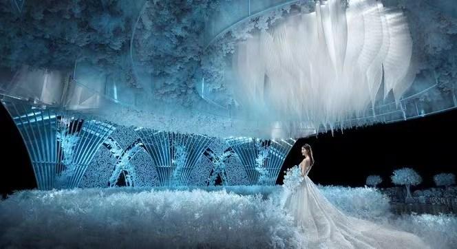 婚礼堂发布:百万婚礼场地!内蒙古锦绣年华酒店  第1张