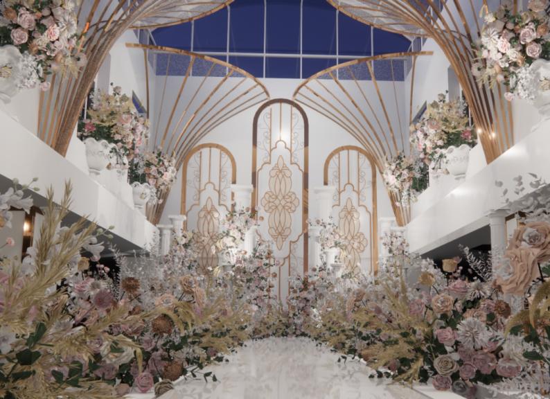 婚礼堂发布:百万婚礼场地!内蒙古锦绣年华酒店  第7张