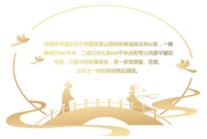 婚礼堂发布:百万婚礼场地!内蒙古锦绣年华酒店  第2张