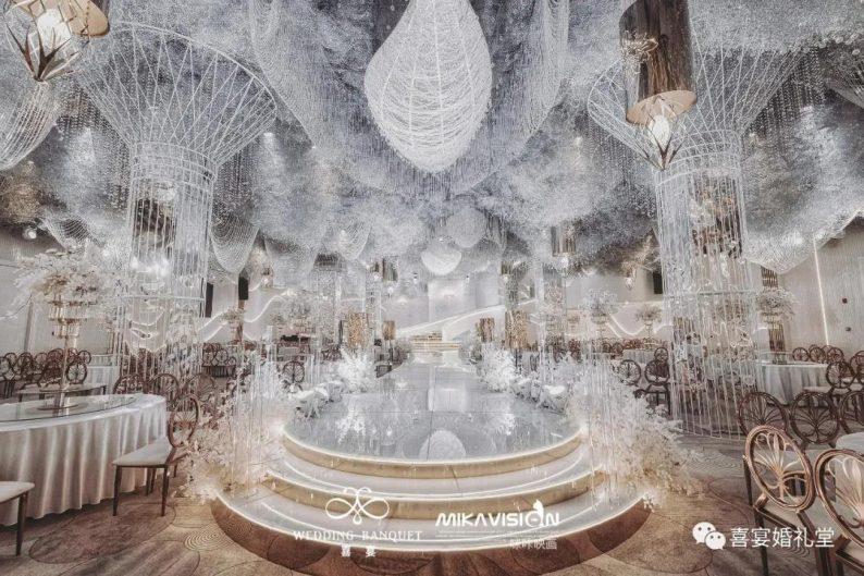 婚礼堂发布:5大宴会厅!哈尔滨喜宴婚礼堂  第3张