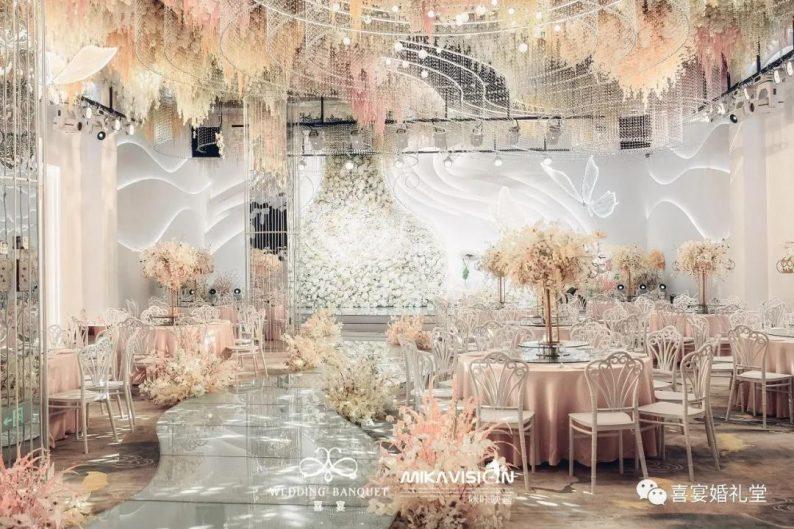 婚礼堂发布:5大宴会厅!哈尔滨喜宴婚礼堂  第5张