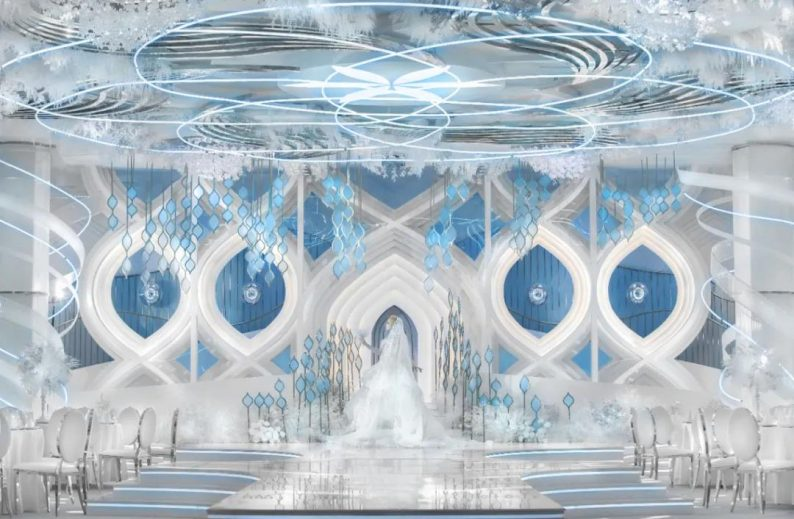 """开创""""新法式""""!李华义全新设计宴会厅《雨雾》  第1张"""