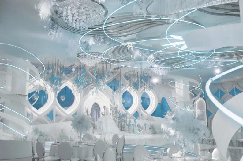 """开创""""新法式""""!李华义全新设计宴会厅《雨雾》  第10张"""