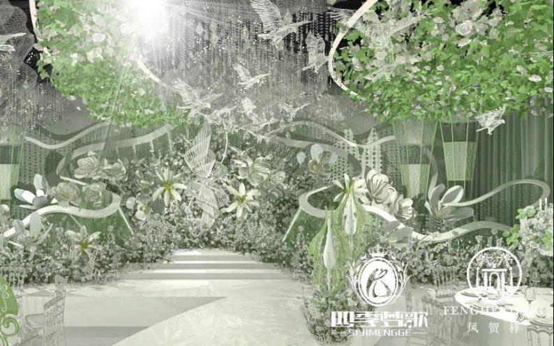 婚礼堂发布:凤贺祥星空主题宴会厅  第4张
