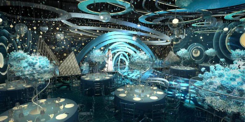 婚礼堂发布:凤贺祥星空主题宴会厅  第8张