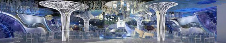 婚礼堂发布:5大蓝色系婚礼堂设计大赏  第2张
