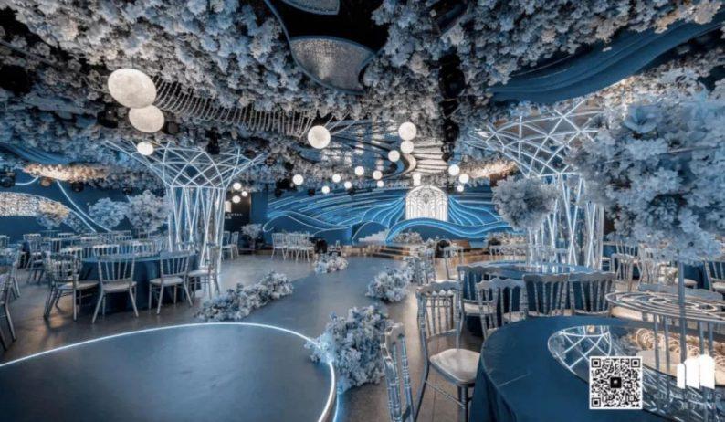 婚礼堂发布:5大蓝色系婚礼堂设计大赏  第3张