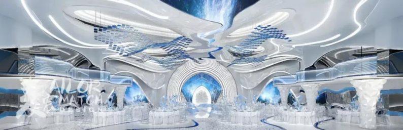 婚礼堂发布:5大蓝色系婚礼堂设计大赏  第8张