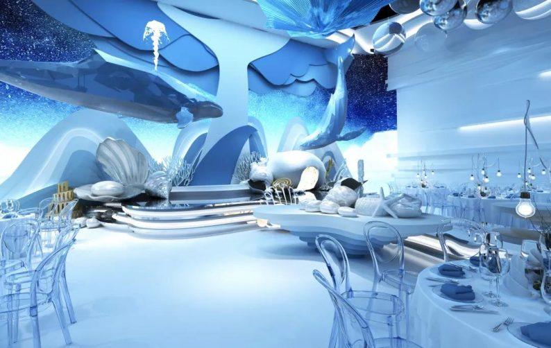 婚礼堂发布:5大蓝色系婚礼堂设计大赏  第12张