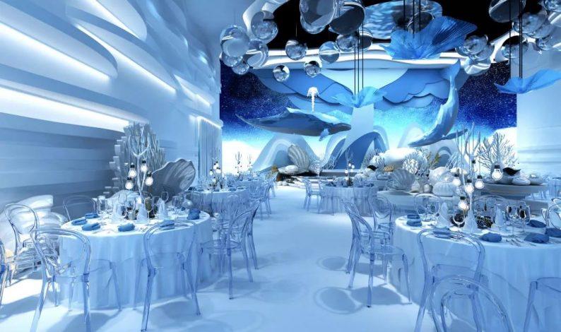 婚礼堂发布:5大蓝色系婚礼堂设计大赏  第13张