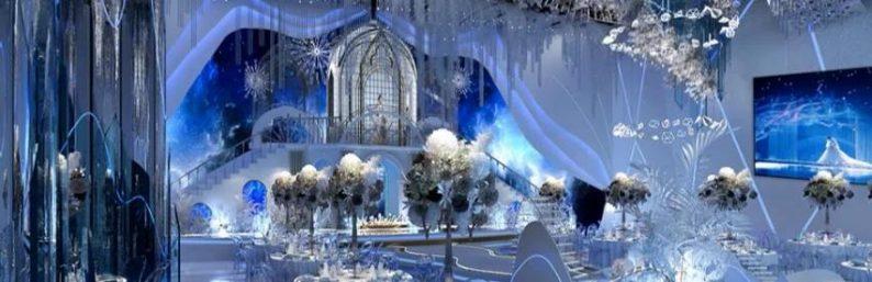 婚礼堂发布:5大蓝色系婚礼堂设计大赏  第14张