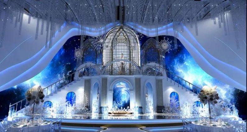 婚礼堂发布:5大蓝色系婚礼堂设计大赏  第15张
