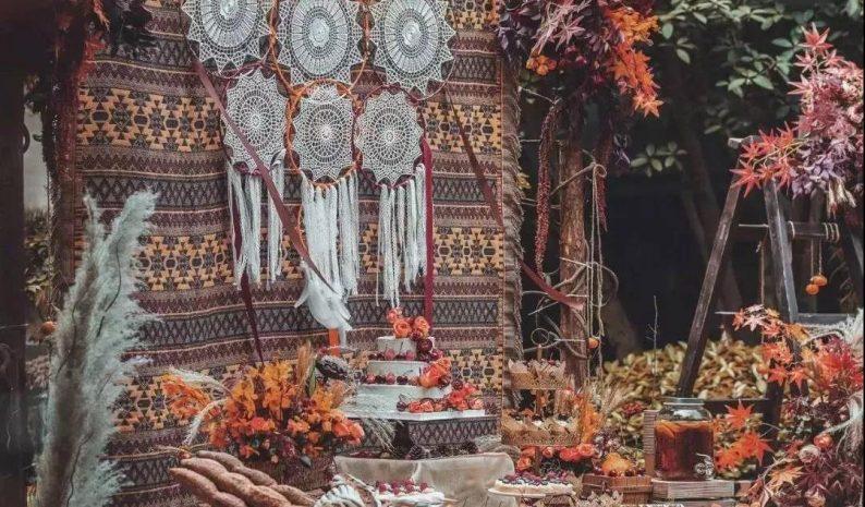 秋季婚礼的6个关键词!  第15张