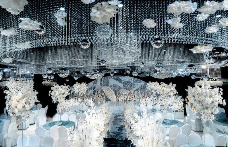 婚礼堂发布:3大宴会厅!海天酒店叁笙婚礼堂全线升级  第1张
