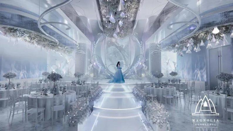 婚礼堂发布:上海曼格纳新厅【海芋之恋】梦幻亮相  第3张
