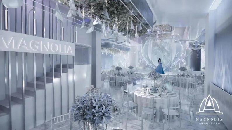 婚礼堂发布:上海曼格纳新厅【海芋之恋】梦幻亮相  第4张