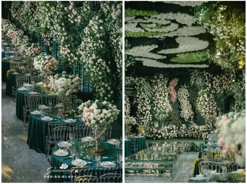 婚礼堂发布:全国第8家门店,上海格莱美.顾村公园店  第18张