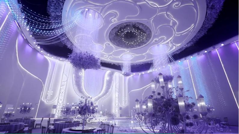 婚礼堂发布:赖梓愈设计!宿州2万平一站式宴会酒店  第6张