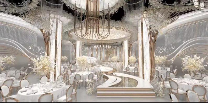 """婚礼堂发布:16个厅!胶州宴开启婚宴""""天花板""""时代  第9张"""