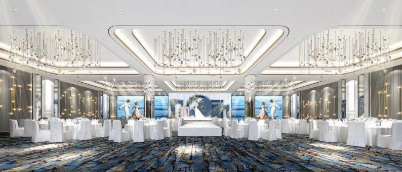 """婚礼堂发布:16个厅!胶州宴开启婚宴""""天花板""""时代  第12张"""