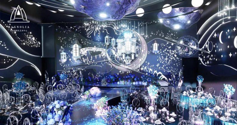 2022婚礼流行色,如何点亮婚礼堂设计?  第3张