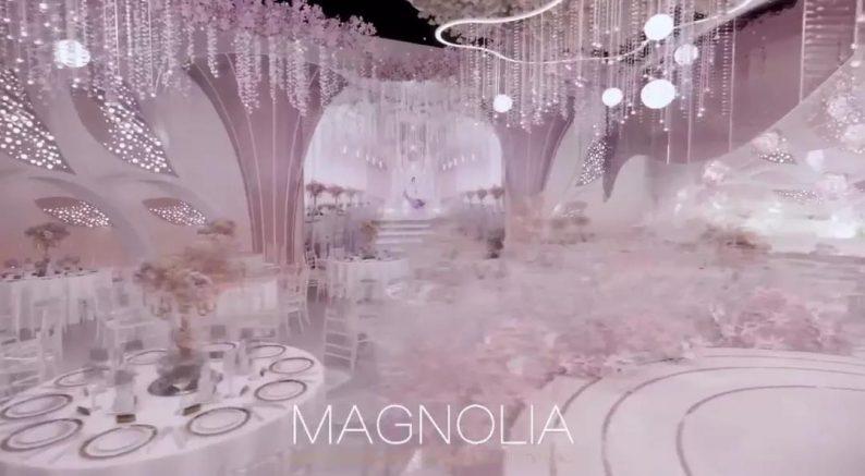 2022婚礼流行色,如何点亮婚礼堂设计?  第6张