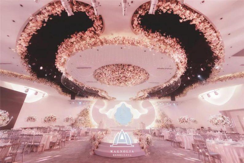2022婚礼流行色,如何点亮婚礼堂设计?  第7张