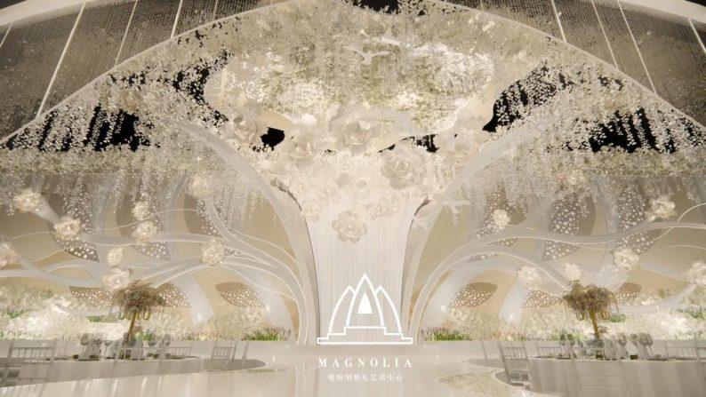 2022婚礼流行色,如何点亮婚礼堂设计?  第9张