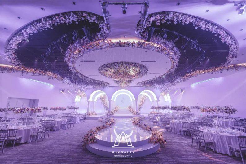 2022婚礼流行色,如何点亮婚礼堂设计?  第15张