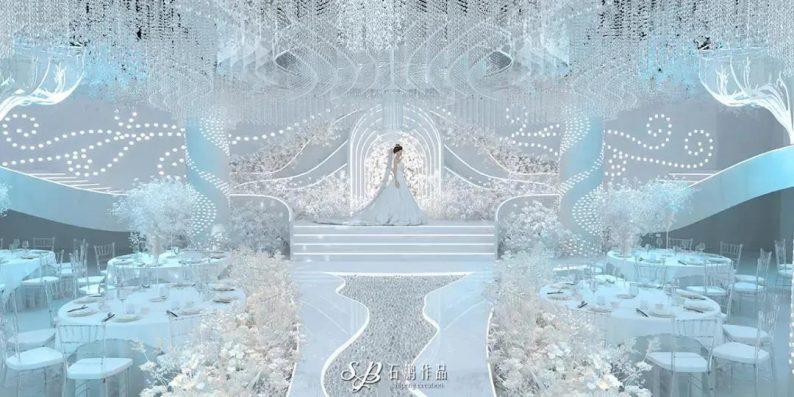 婚礼堂发布:3大主题厅!艾斯维尔宴会中心  第3张