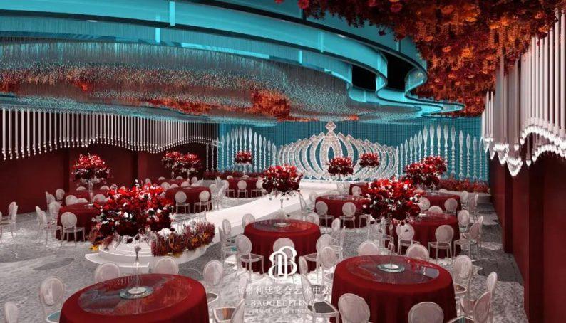 婚礼堂发布:徐丹宁波首秀!投资2600万,宝格利廷宴会艺术中心  第6张