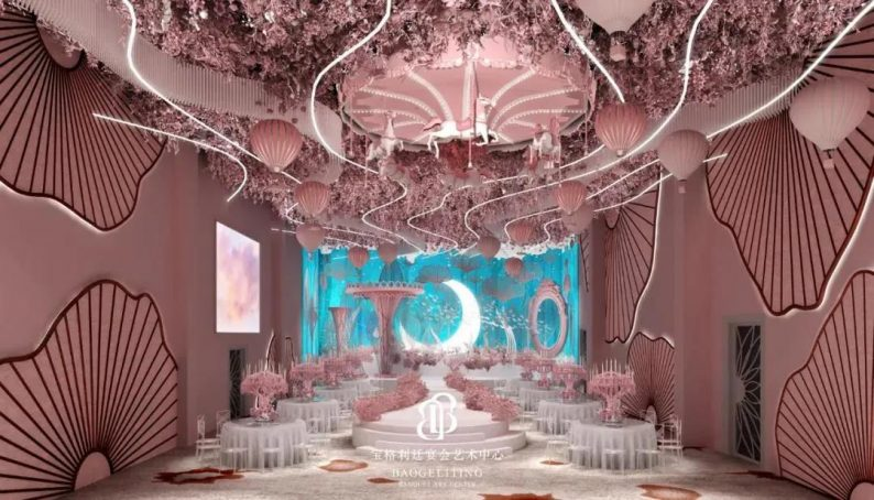 婚礼堂发布:徐丹宁波首秀!投资2600万,宝格利廷宴会艺术中心  第7张