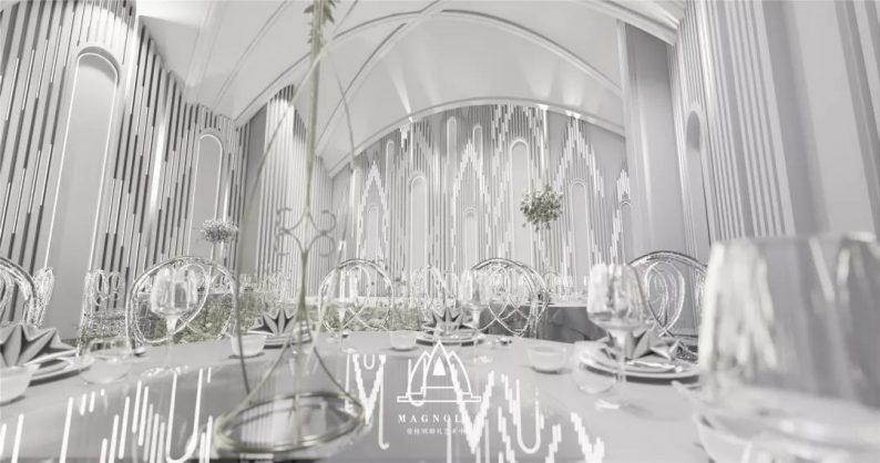婚礼堂发布:上海曼格纳新厅,演绎春色浪漫  第6张