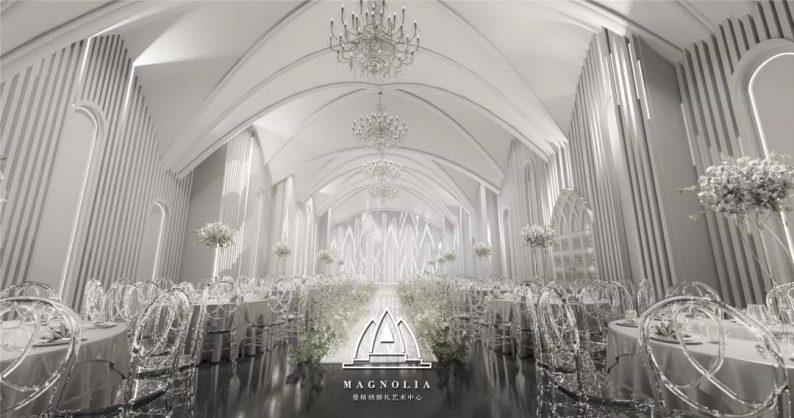 婚礼堂发布:上海曼格纳新厅,演绎春色浪漫  第7张