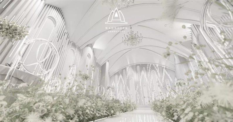 婚礼堂发布:上海曼格纳新厅,演绎春色浪漫  第10张