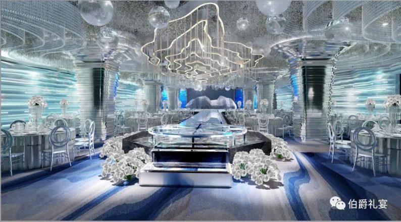 婚礼堂发布:西安伯爵礼宴7大宴会厅  第2张