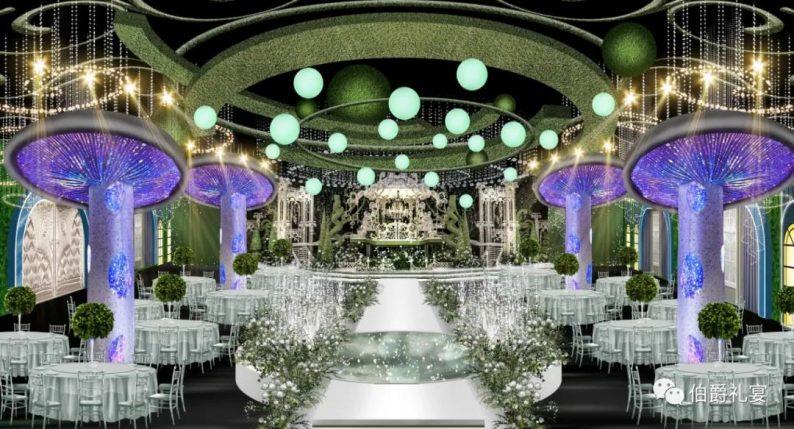 婚礼堂发布:西安伯爵礼宴7大宴会厅  第3张