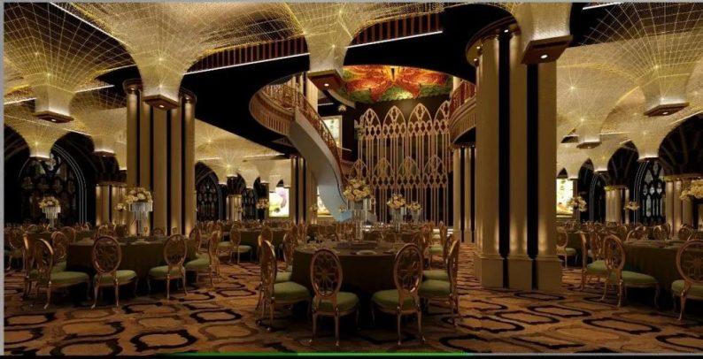 婚礼堂发布:西安伯爵礼宴7大宴会厅  第4张