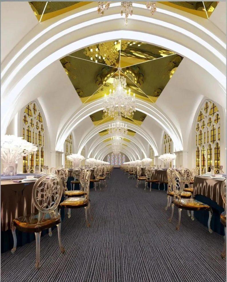 婚礼堂发布:西安伯爵礼宴7大宴会厅  第5张