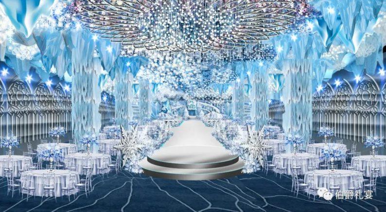 婚礼堂发布:西安伯爵礼宴7大宴会厅  第7张