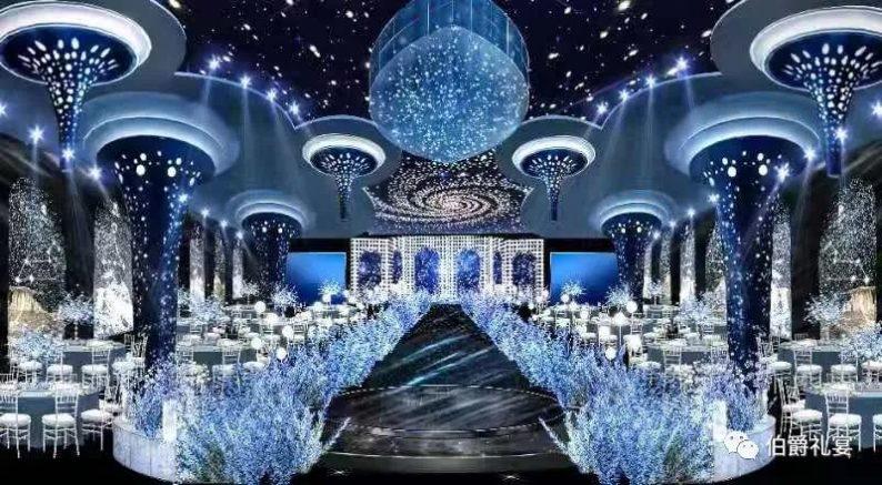 婚礼堂发布:西安伯爵礼宴7大宴会厅  第8张